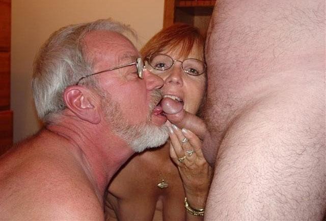 Grandpa huge cock