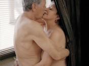 Sexy Frau die zusammen einem mann