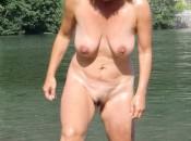 Strand Nudist Fkk Reife Frau